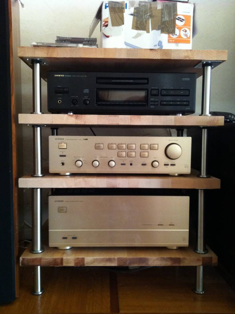 Mon meuble hifi diy simpliste le forum audio vintage for Petit meuble audio